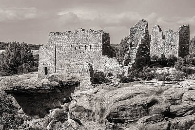 Photograph - Ancient Ruins At Hovenweep National Monument by John Brink