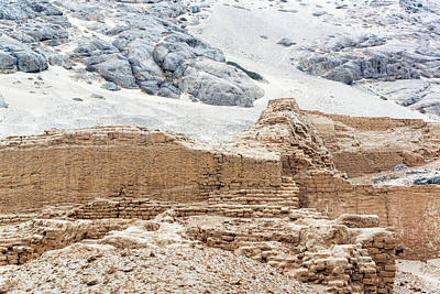 Mochica Photograph - Ancient Ruins In Trujillo, Peru by Jess Kraft