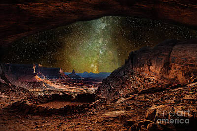 Photograph - Ancient Sacred Lands by Steven Reed