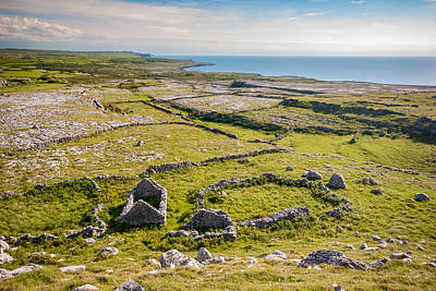 Photograph - Ancient Settlement In The Burren by Pierre Leclerc Photography