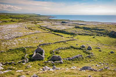 Burren Photograph - Ancient Settlement In The Burren by Pierre Leclerc Photography