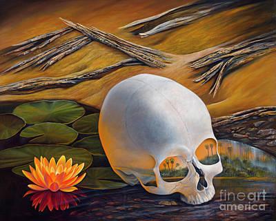 Painting - Memory Persistence by Birgit Seeger-Brooks