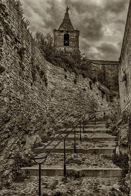Photograph - Ancient Stairs Near Notre Dame La Major Church Arles France_dsc5644_16  by Greg Kluempers
