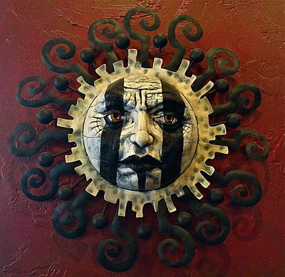 Photograph - Ancient Sun Artwork by Denise Mazzocco