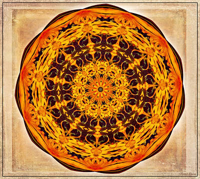 Photograph - Ancient Sun Kaleidoscope by Anna Louise