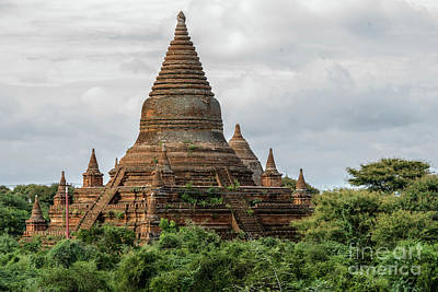 Photograph - Ancient Temples Of Bagan 2 by Werner Padarin