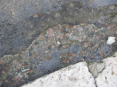 Wall Art - Photograph - Ancient Textures Of Pompeii by Linda Heberling