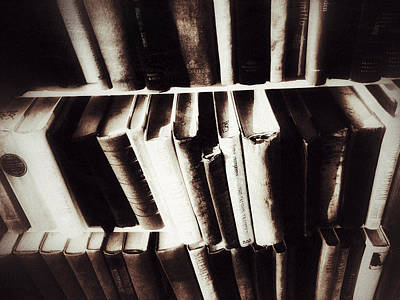 Photograph - Ancient Tomes by Mark David Gerson