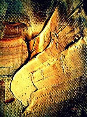 Painting - Ancient Treasure - Gold Of The Pharaohs by VIVA Anderson
