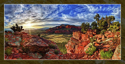 Digitally Manipulated Photograph - Ancient Vision by ABeautifulSky Photography by Bill Caldwell