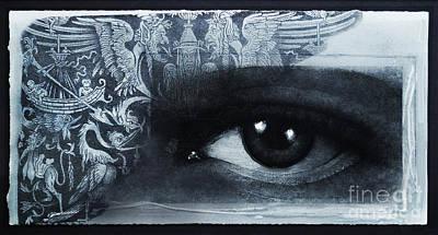 Wall Art - Mixed Media - Ancient Vision by Carole Lindberg