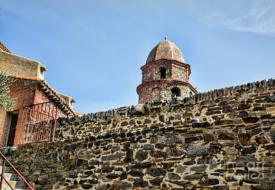 Photograph - Ancient Walls Of Collioure France  by Chuck Kuhn