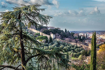 Photograph - Ancient Walls Of Florence by Sonny Marcyan