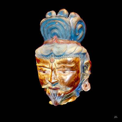 Digital Art - Ancient Warlord by Joe Paradis