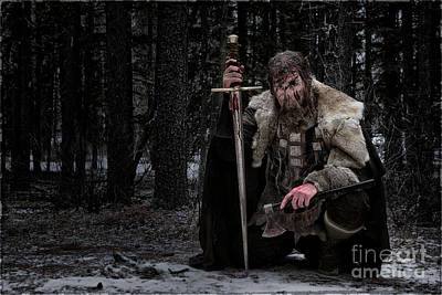 Photograph - Ancient Warrior by Brad Allen Fine Art