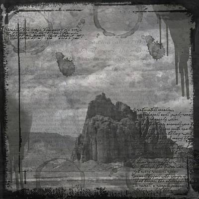 Digital Art - Ancient Word by Nadine Berg
