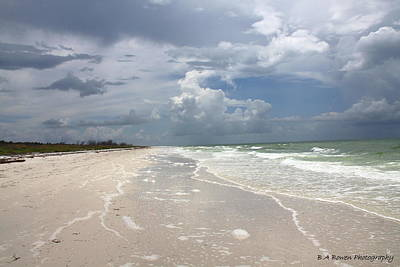 Photograph - Anclote Key Beach by Barbara Bowen