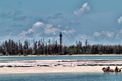 Photograph - Anclothe Key, Florida Light 2 by Gordon Engebretson
