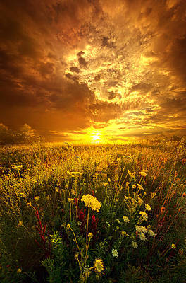 Photograph - And In A Whispered Moment She Was Gone by Phil Koch
