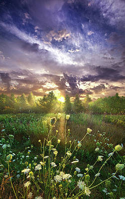 Unity Photograph - And In The Naked Light I Saw by Phil Koch