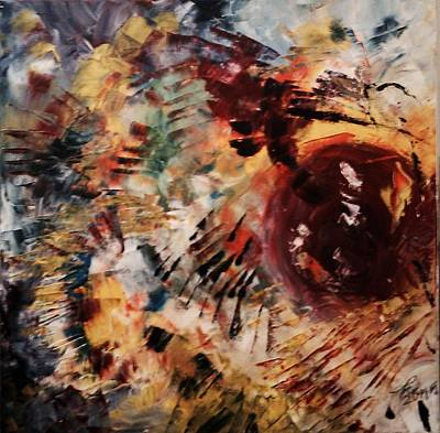 Pictori Romani Contemporani Painting - And It Started So Well by Carmen Kolcsar