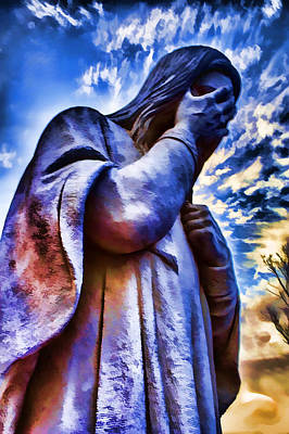 Photograph - And Jesus Wept by Ricky Barnard