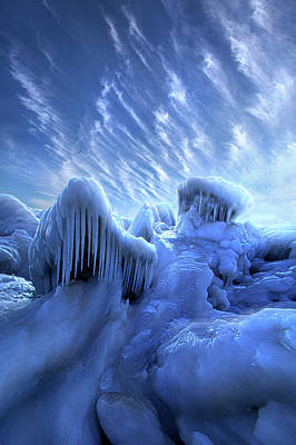Photograph - And Slept The Tempest Wild by Phil Koch