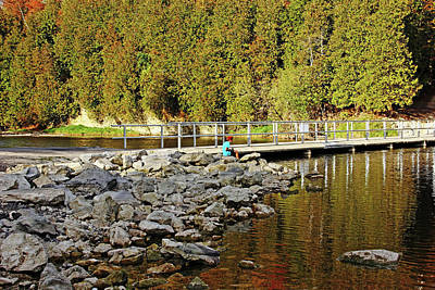 Photograph - And The Fishing Is Easy by Debbie Oppermann