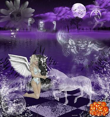 And The Ghosts Have Risen Art Print by Morning Dew