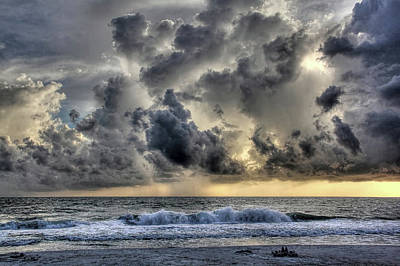 Photograph - And The Rains Came - Clouds by HH Photography of Florida