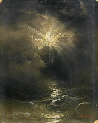 Painting - And The Spirit Of God Moved On The Face Of The Waters  by Ivan Konstantinovich Aivazovsky