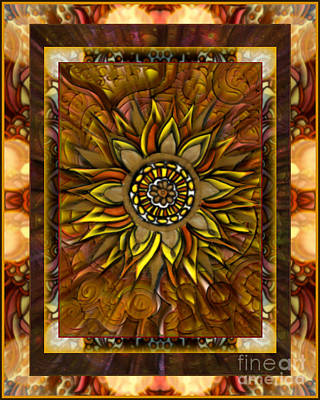 Pour Mixed Media - And The Sun Poured In Like Butterscotch by Wbk