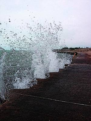 Photograph - And The Waves Leap For Joy by Nick Heap