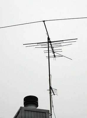 And Then An Antenna Print by Ross Odom