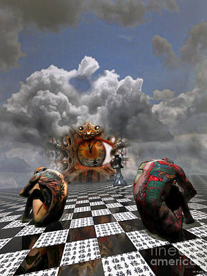 Surreal Art Mixed Media - And Then I Dream by ML Walker