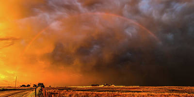 Full Rainbow Photograph - And Then There Was... by Sean Ramsey