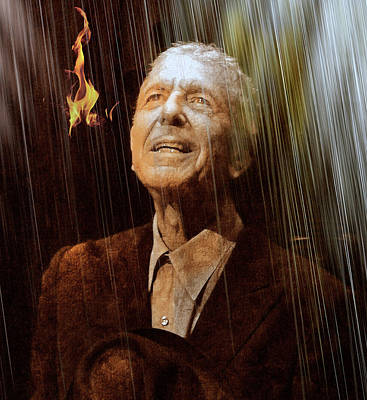 Leonard Digital Art - And Who By Fire Who By Water by Mal Bray