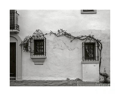 Wall Photograph - Andalucia Wall by Thomas Marchessault