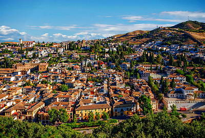 Europe Photograph - Andalusia - Granada, Spain by Anthony Dezenzio