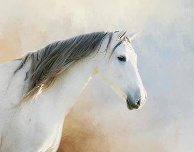 Andalusian Digital Art - Andalusian Beauty  by Susan Carter