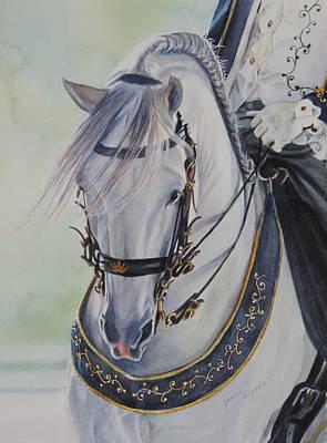 Wall Art - Painting - Andalusian Dreams by Nancy Delgado