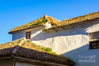 Andalusian Roofs Art Print by Lutz Baar