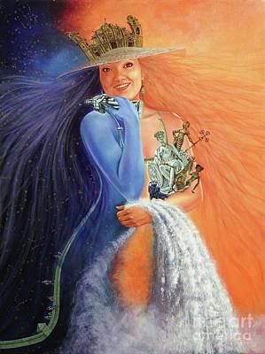Painting - Andar La Habana' by Jorge L Martinez Camilleri