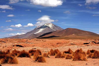 Photograph - Andean Mountain Landscape by Aidan Moran