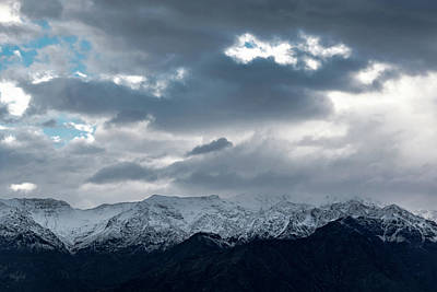 Photograph - Andean View From Santiago by Steven Richman