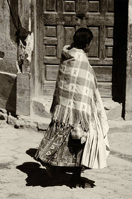 Photograph - Andean Woman by Amarildo Correa