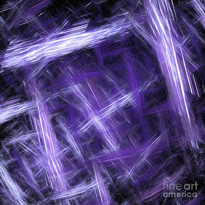 Digital Art - Andee Design Abstract 30 2017 by Andee Design