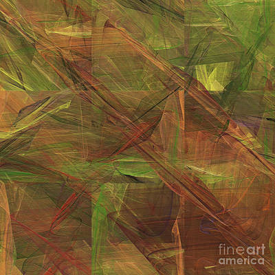 Digital Art - Andee Design Abstract 49 2017 by Andee Design