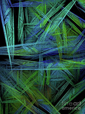 Digital Art - Andee Design Abstract 61 2017 by Andee Design