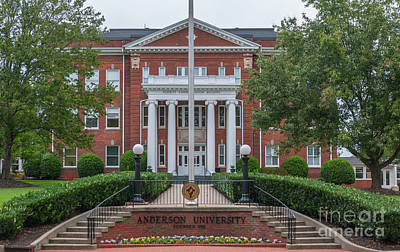 Photograph - Anderson College by Dale Powell